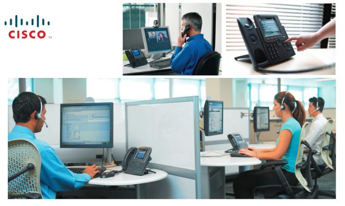 Call Centre oparty o infrastrukturę Cisco. Zdjęcie z dokumentacji.