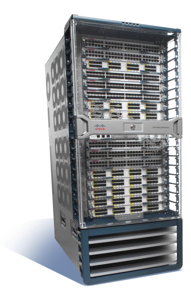 Szafa telekomunikacyjna Cisco. Zdjęcie z dokumentacji.