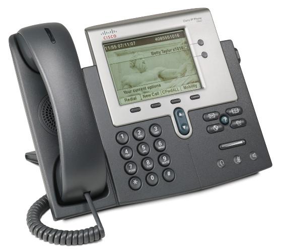 IP telefon Cisco. Zdjęcie z dokumentacji.